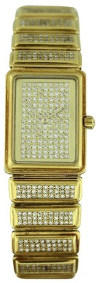 Vacheron Constantin Classic Diamond & 18K Yellow Gold 26mm Womens Watch $16,875 thestylecure.com