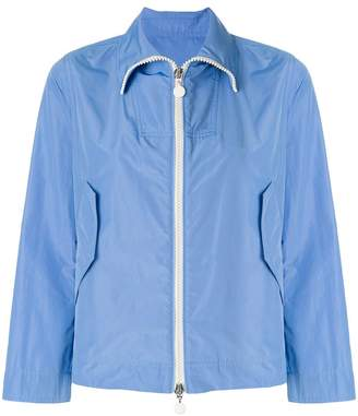 Moncler zipped fitted jacket