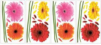 Gerber RoomMates Small Daisies Peel-and-Stick Wall Decals