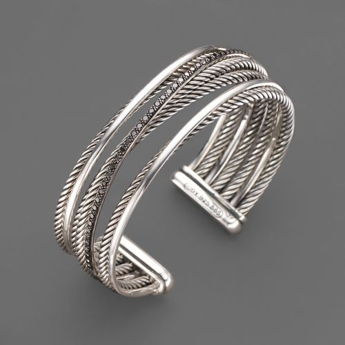 David Yurman Graphite Ice Cuff Bracelet