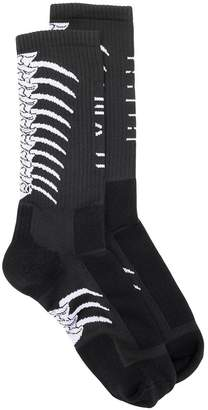 Unravel Project mid-calf length socks