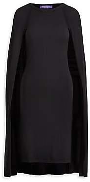 Ralph Lauren Women's Iconic Style Cape Dress