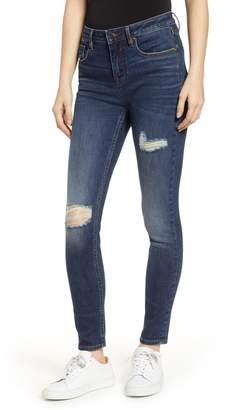 Vigoss Marley High Waist Ripped Skinny Jeans