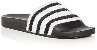Adidas Men's Adilette Slide Sandals $45 thestylecure.com