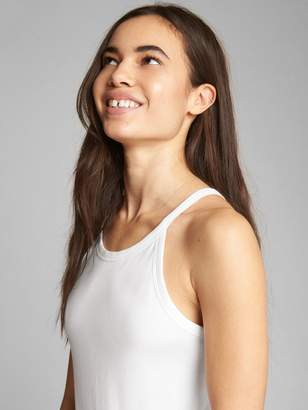 Gap Fitted Halter Tank Bodysuit