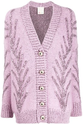 Marco De Vincenzo chunky knit cardigan