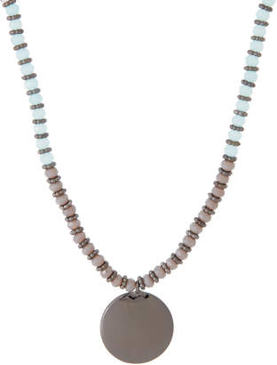 Schiff Marlyn Circle Charm Beaded Necklace