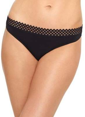 B.Tempt'd B. Tempt'D By Wacoal Tied in Dots Printed Thong