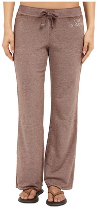 Life Is Good Bold French Terry Pants $58 thestylecure.com