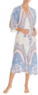 In Bloom Floral Print Robe