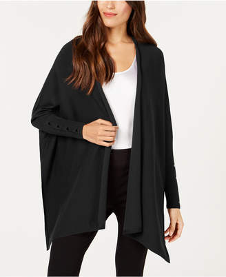 Alfani Open-Front Handkerchief-Hem Cardigan, Created for Macy's