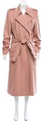Saint Laurent Belted Wool Coat