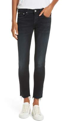 Rag & Bone The Dre Raw Hem Ankle Slim Boyfriend Jeans