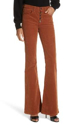 Veronica Beard Beverly Corduroy Flare Pants