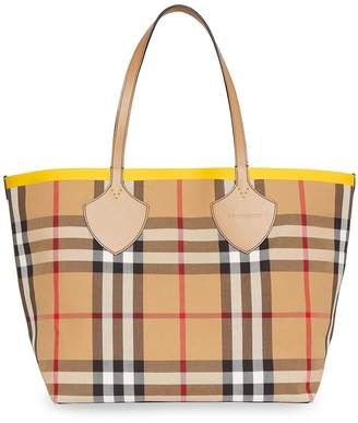 Burberry Giant check-print tote