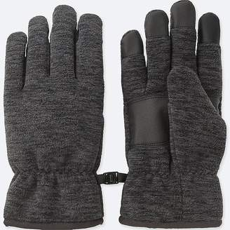Uniqlo Men's Heattech-lined Fleece Gloves