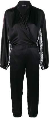 Coup De Coeur jumpsuit with metallic inserts