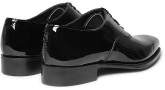 d9e498364a336a Kingsman - George Cleverley Patent-Leather Oxford Shoes - Men - Black