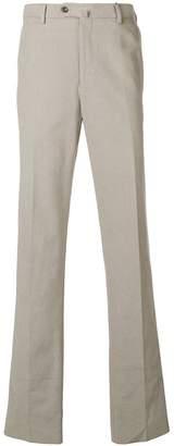 Loro Piana creased straight leg trousers