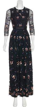 Needle & Thread Embellished Maxi Dress w/ Tags
