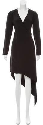 Juan Carlos Obando Silk Wrap Dress w/ Tags