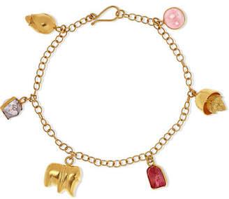 Pippa Small 18-karat Gold Spinel Bracelet