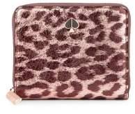 Kate Spade Leopard-Print Leather Wallet