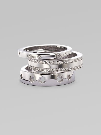 Dior Stack Three-Ring Set