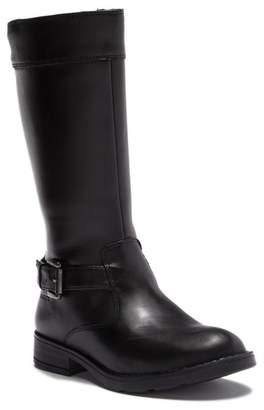 Geox Sophia Leather Tall Boot (Little Kid & Big Kid)