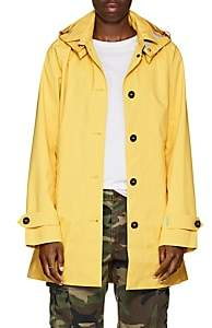 Save The Duck SAVE THE DUCK WOMEN'S HOODED RAIN JACKET-YELLOW SIZE 1