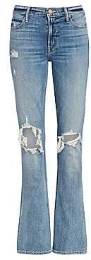 Mother Women's Runway Weekender Bootcut Jeans