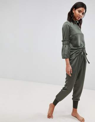 Ted Baker Ted Says Relax Paper Bag High Waist Pants