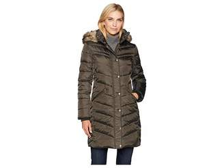 MICHAEL Michael Kors Snap Front 3/4 Down with Hood M823172G