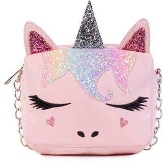 OMG Small Unicorn Icon Crossbody Bag