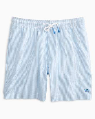 DAY Birger et Mikkelsen Southern Tide Seersucker Swim Trunk