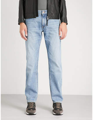 BOSS Regular-fit straight jeans