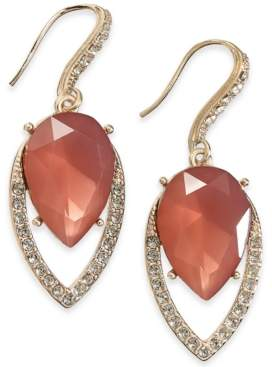 INC International Concepts I.n.c. Gold-Tone Crystal & Stone Drop Earrings, Created for Macy's