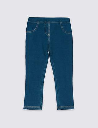 Marks and Spencer Cotton Jeggings with Stretch (3 Months - 7 Years)