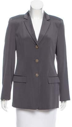 Calvin Klein Collection Structured Silk Blazer