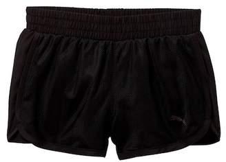 Puma Mesh Overlay Shorts (Toddler Girls)
