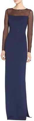 Shimmer Milano Knit Gown $1,795 thestylecure.com