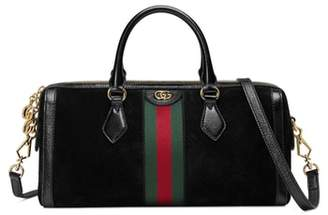 Gucci Ophidia Suede Top Handle Bag