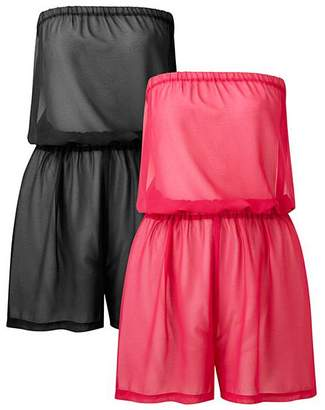 Basic 2 Pack Playsuits