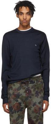 Etro Blue Wool Sweater