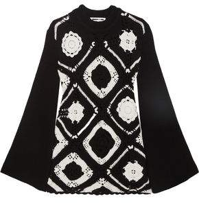 McQ Crocheted Wool And Cotton-Blend Mini Dress