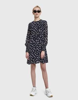 Ganni Rometty Georgette Mini Dress