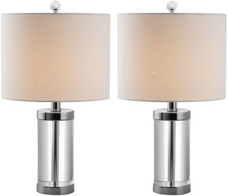 Safavieh 2-pc. Laurie Crystal Table Lamp Set