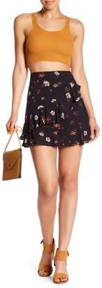 Honeybelle Honey Belle Floral Faux Wrap Skirt