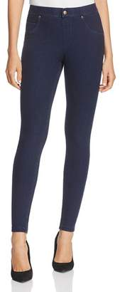 Hue Fleece-Lined Denim Leggings