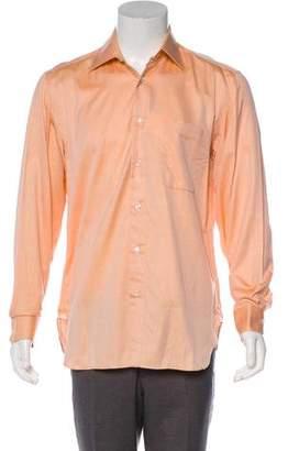 Borrelli Herringbone Print Dress Shirt w/ Tags